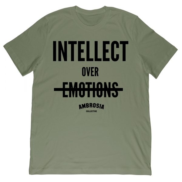 Intellect Over Emotions Tee