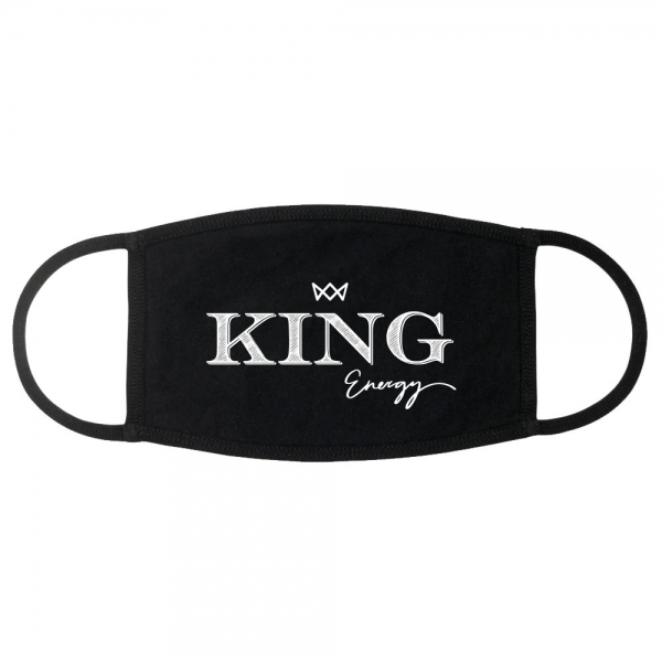 King Energy Face Mask - Black
