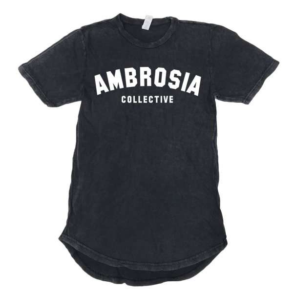 Ambrosia Collective - Vintage Scoop Tee - Black