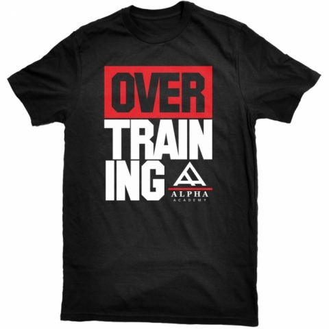 Overtraining - Tee - Black